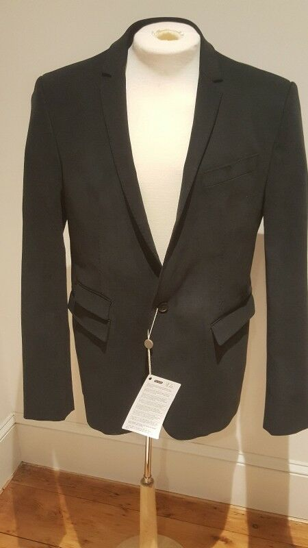 Les herren Blazer Jacket NWT Navy Blau