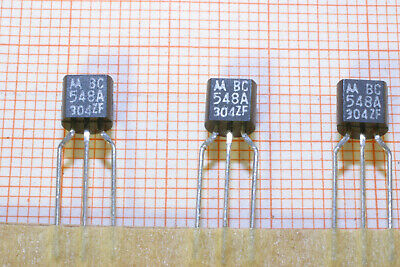 Transistor BipolarNPN BC548C Geh/äuse TO92 50 St/ück