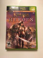 Kingdom Under Fire: Heroes (Microsoft Xbox, 2005)