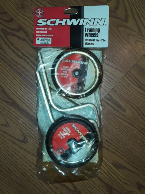 Schwinn Training Wheels 16 20 For Sale Online Ebay