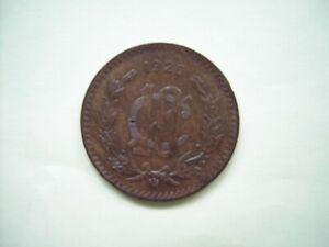 1920  KM 430 Mexico 10 centavos  VF-XF
