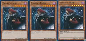 3X Vanity/'s Fiend DUDE-EN034 Ultra Rare Yugioh Duel Devastator