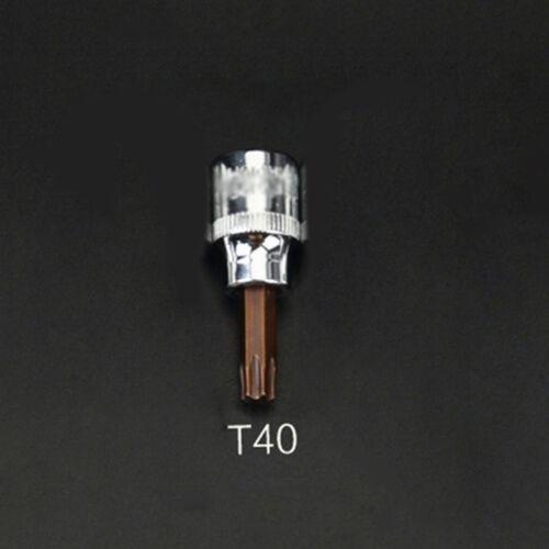 """Torx Star Socket Bit 3//8/"""" Drive T10// T15// T20// T30// T35// T40// T45// T50 Torx Bits"""