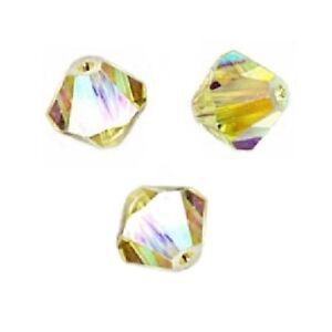 25 Perles Toupies 4mm cristal Swarovski  ROSE ALABASTER 5328 XILION