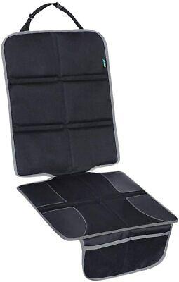Protector de asiento de coche para ni/ños protectores de asiento impermeables y resistentes a las manchas alfombrillas para patadas protector de respaldo para asiento trasero de coche