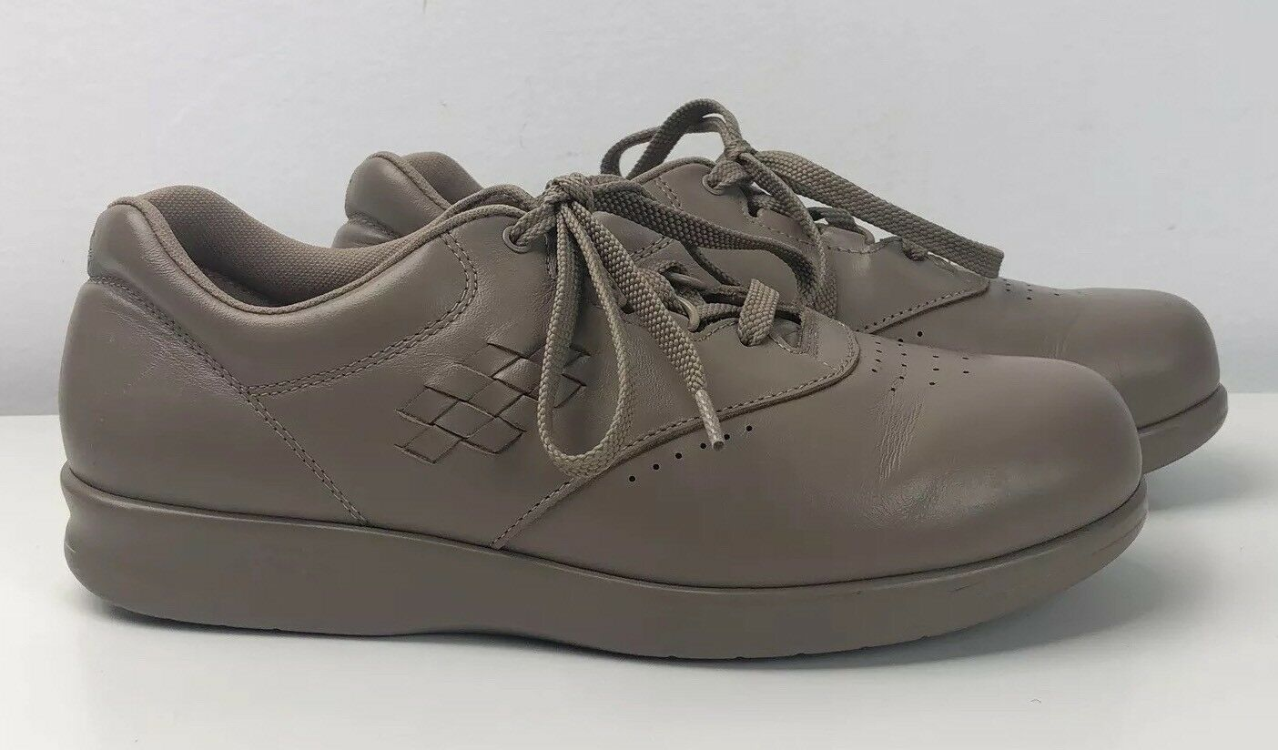 SAS Womens Comfort Free Time Tan Leather Lace Up Comfort shoes Size 8.5 M