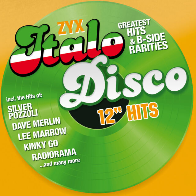 CD Zyx Italo Disco 12 Hits Various Artists 2CDs