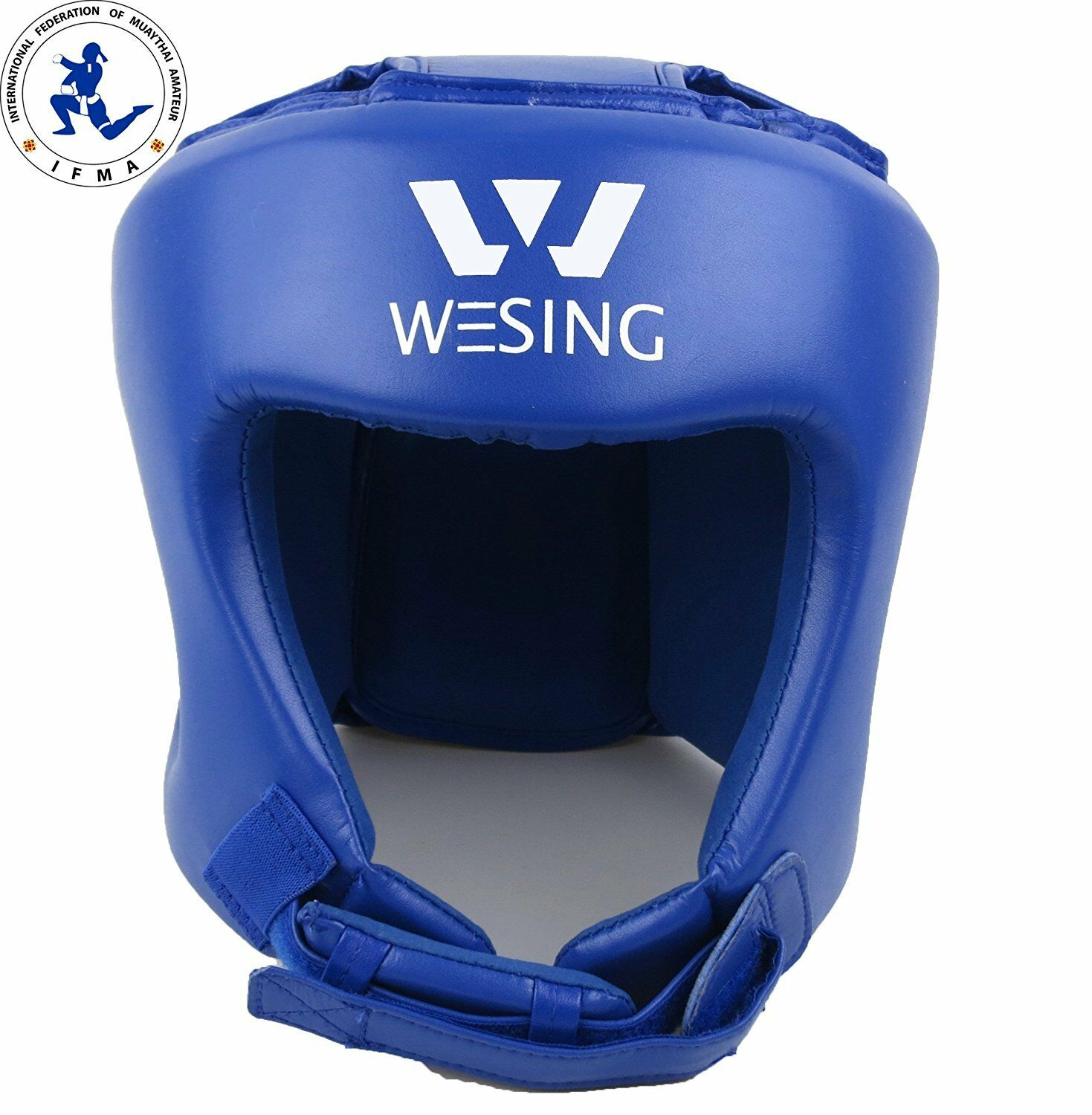 Wesing muaythai headguard Competition Headgear head predector IFMA approved