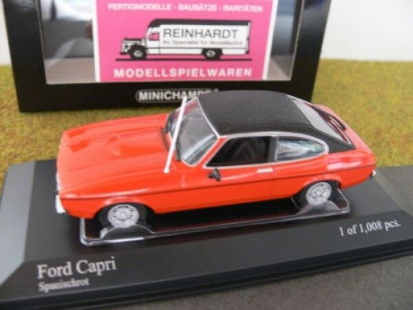 1 43 Minichamps Ford Capri II 1974 red 400 081208