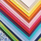 £1 Clearance MODA Bella Solids Top Favorites Colours Plain 100% Cotton Fabric