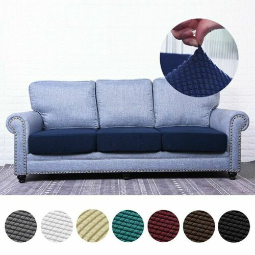 Stretchy Sofa Seat Cushion Cover Couch Slipcovers Protector Fabric Replacement