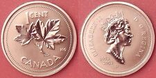 Specimen 2002P Canada 1 Cent From Mint's Set