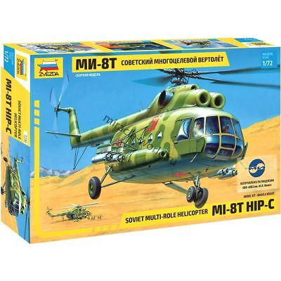 Mi-8T HIP-C Soviet Multi-Role Helicopter USSR 1:72 Zvezda #7230 Russia
