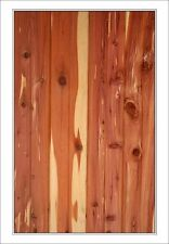 1x6 inch Native Red Cedar Boxcar Siding T&G or Shiplap construction