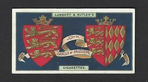 LAMBERT-amp-BUTLER-ARMS-OF-KINGS-amp-QUEENS-OF-ENGLAND-7-JOHN