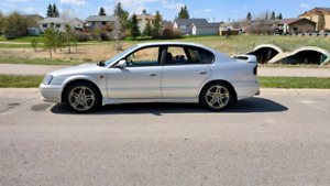 $5500$ MINT TWIN TURBO AWD JDM 2000 SUBARU LEGACY $5500 FIRM