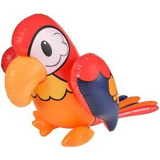 "40"" Inflatable Parrot Tropical Bird Beach Luau Pool Party Float Outdoor Fun Toy"