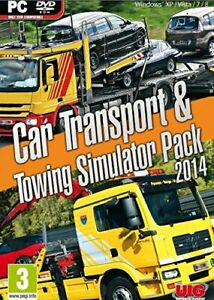 Voiture-Transport-amp-Towing-Simulator-Double-Paquet-2014-PC-DVD-Neuf-Scelle