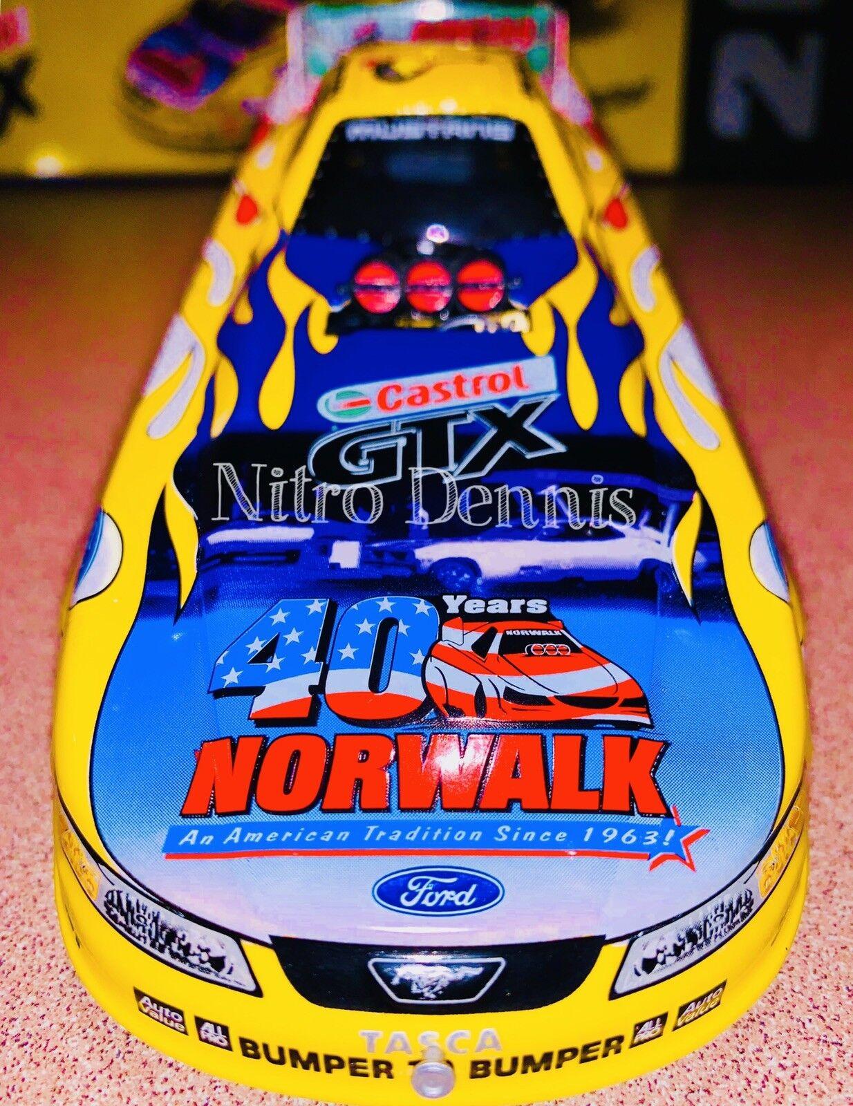 NHRA JOHN FORCE 1 24 Action NITRO Funny Car 40th NORWALK EXPERIENCE Diecast