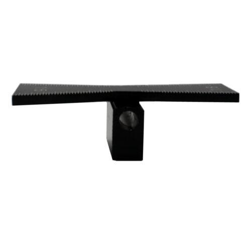 1:8 Hardwood 415-9307 Graduated Scales Black Dovetail Marker 1:5 Soft Wood
