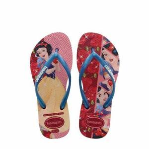 b0935db59058 Havaianas Kids Flip Flop Sandals - 13C 1Y - Disney Snow White - Red ...