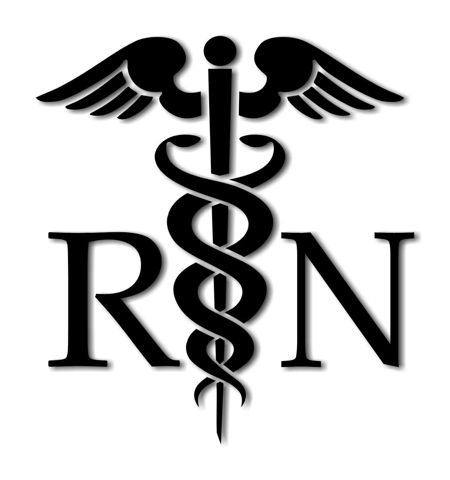 48 Custom Medical Symbol Caduceus Decals