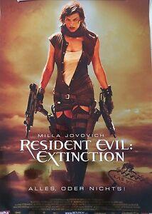 Resident Evil: Extinction Poster 59,5 x 84 cm DIN A1 Deko Wandkunst glänzend NEU - Achern, Deutschland - Resident Evil: Extinction Poster 59,5 x 84 cm DIN A1 Deko Wandkunst glänzend NEU - Achern, Deutschland