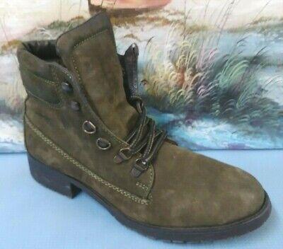 Steve Madden Gantra Olive Green Leather