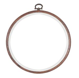 Aro de madera sintética Flexi 12.5cm 5 pulgadas pantalla//Coser//Puntada Cruzada Marco