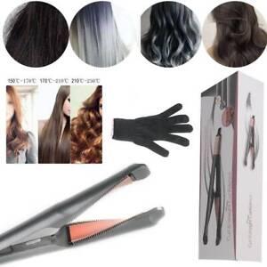 Haarglätter 2-in-1 Curl&Straight Pro Glätteisen & Lockenstab ür alle Haartypen
