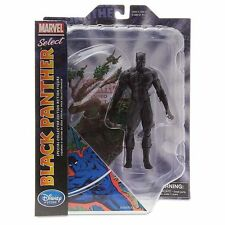 MARVEL SELECT DISNEY STORE UK EXCLUSIVE BLACK PANTHER ACTION FIGURE NEW