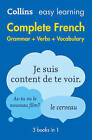 Easy Learning French Complete Grammar, Verbs and Vocabulary (3 books in 1) (Collins Easy Learning French) by Collins Dictionaries (Paperback, 2016)