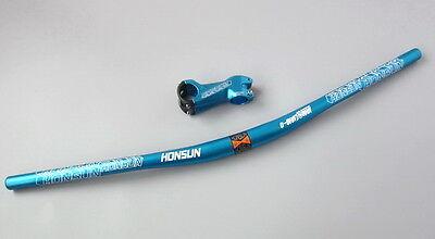 MTB Road Bike Downhill Handlebar Riser Bar 31.8*720//780 Rise Up 15//25mm Cycling
