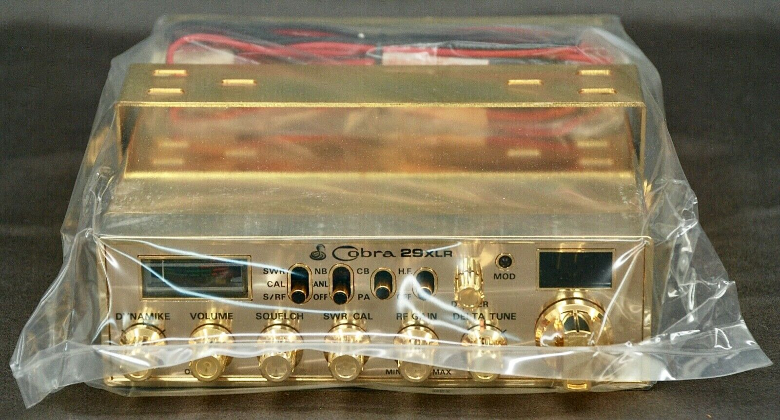 COBRA 29XLR Gold Plated Special Edition - New Old Stock. Available Now for 745.00