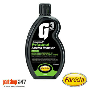 Farecla 500ml G3 Professional Scratch Remover Liquid for Car, Van, Bike 7164E