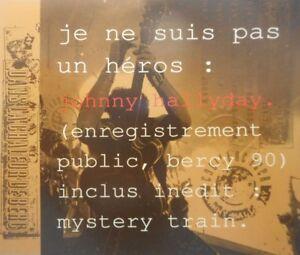 JOHNNY-HALLYDAY-JE-NE-SUIS-PAS-UN-HEROS-RARE-CD-MAXI