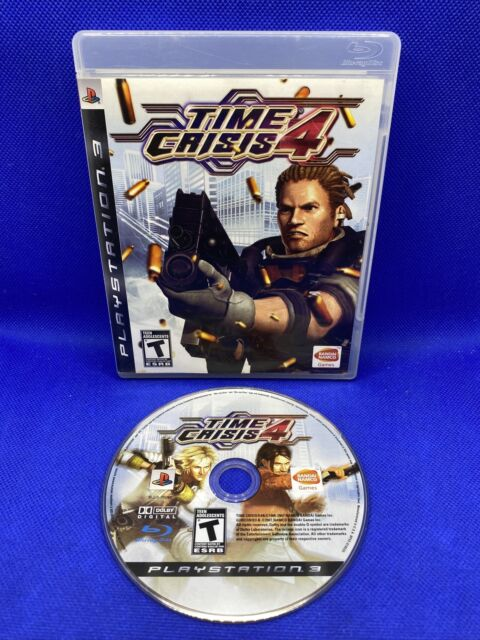 Time Crisis 4 (Sony PlayStation 3, 2007) PS3 Game Tested And Working!