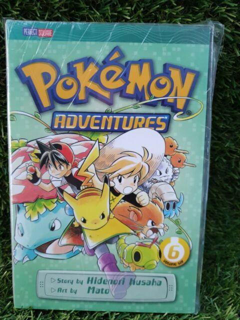 NEW Pokemon Adventures By Hidenori Kusaka Paperback Volume 6  Free Shipping