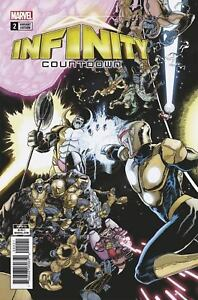 Infinity-Countdown-2-Connecting-Kuder-Variant-Marvel-Comic-1st-Print-2018-NM