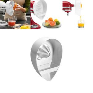 For-KitchenAid-Stand-Mixer-White-Juicer-Attachment-Juicing-Lemons-Grapefruit-NEW