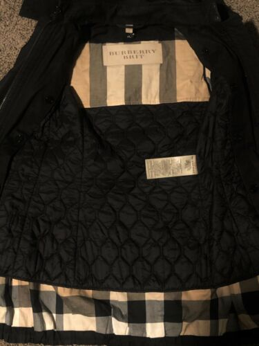 Burberry Detachable Hood Trench Coat SIZE XS