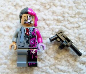 LEGO-DC-Batman-Rare-Original-Two-Face-Minifig-70915-New-Removed-From-Set