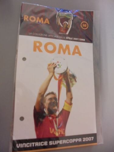 BROCHES AS ROMA FOOTBALL BROCHE PINS 2007//2008 N °16 VAINQUEUR SUPER COUPE 2007