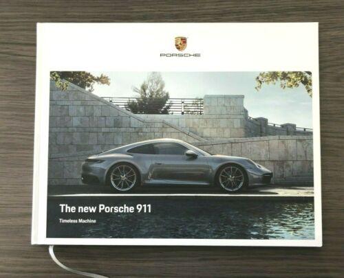 2020 PORSCHE 911 992 Series S /& 4S HARDCOVER BROCHURE NEW