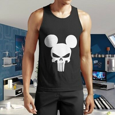 T Shirt T-shirt Punisher Mickey Mouse