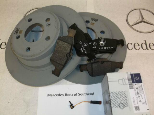 Mercedes E-Class W211 E 320 Genuine Allied Nippon Rear Brake Pads Set