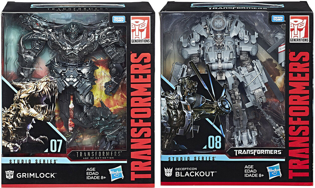 Transformers Movie Studio Series Figure Leader Class - Set of 2 (to )