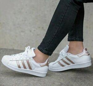 adidas Originals Superstar W White Rose
