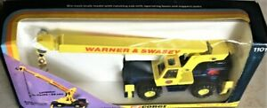 Corgi-1101-Warner-amp-Swasey-Hydraulic-Mobile-Crane-w-Telescoping-Boom-1-50-MIB