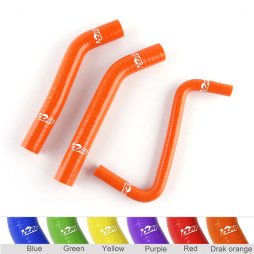 Orange Silicone Radiator Tubes For 2006 07 08 09 10 11 12 13 14 Honda TRX450R